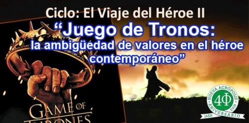 Ciclo: El viaje del Héroe II: