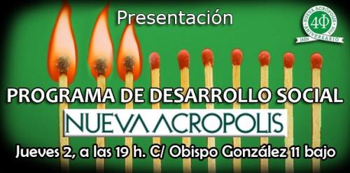 Presentación: Programa de Desarrollo Social Nueva Acrópolis