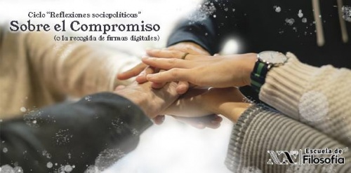 Sobre el compromiso (o la recogida de firmas digitales)