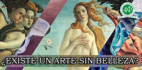 Día Mundial de la Filosofía ¿EXISTE UN ARTE SIN BELLEZA?