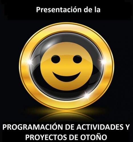 Presentación Programa de Actividades y Proyectos